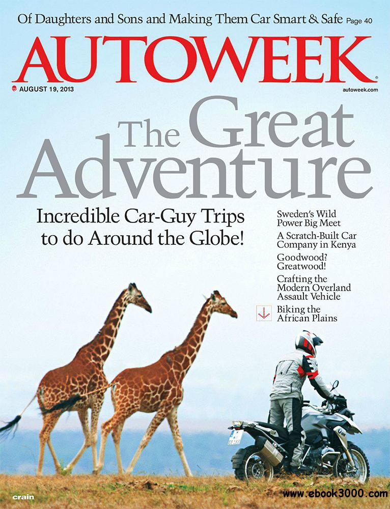 Autoweek 19 August 2013 (USA) free download