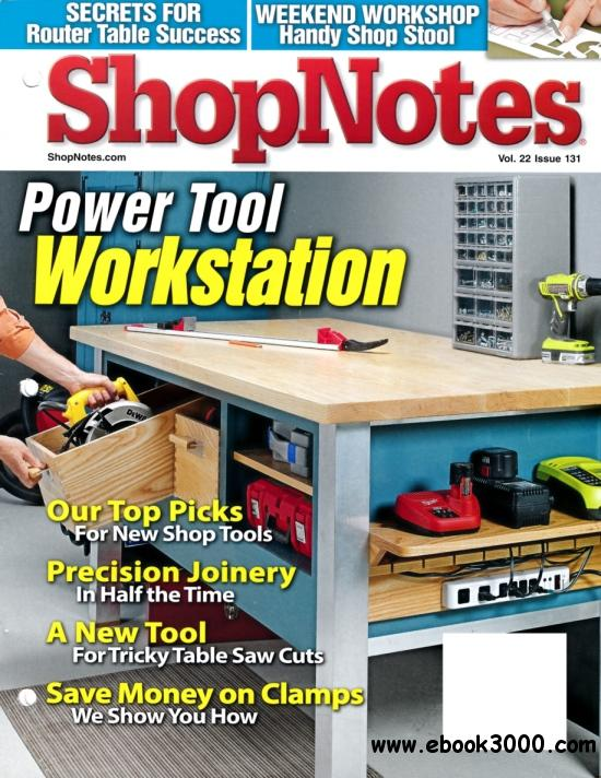ShopNotes Issue #131 (Sep - Oct 2013) free download
