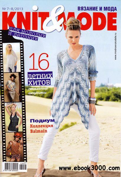 Knit & Mode No.7-8 Russia C July / August 2013 free download