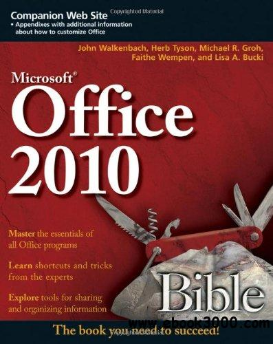 Office 2010 Bible, 3rd Edition free download