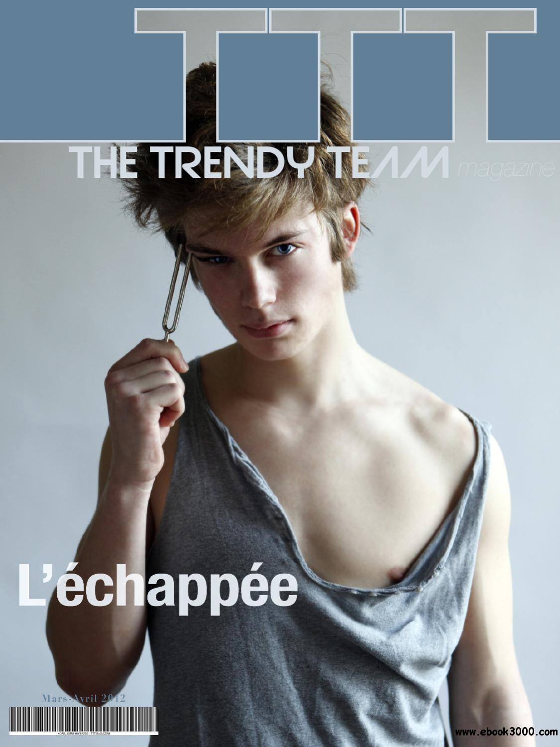 The Trendy Team - March / April 2012 free download