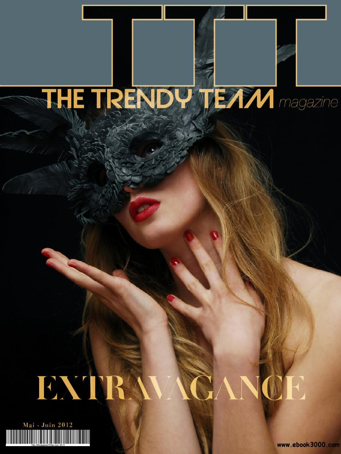 The Trendy Team - May / June 2012 free download