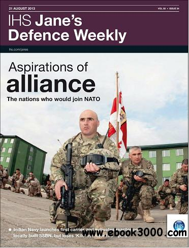 Jane's Defence Weekly Magazine August 21, 2013 free download
