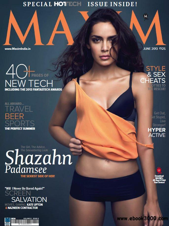 Maxim India - June 2013 free download