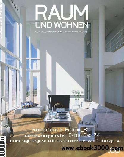 Raum und Wohnen Magazin August - September No 08 2013 free download
