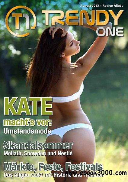 Trendy One - August 2013 free download