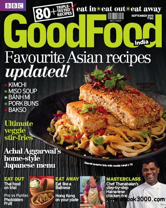 BBC GoodFood India - September 2013 free download