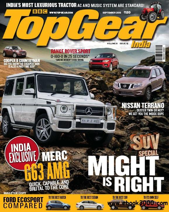 BBC TopGear India - September 2013 free download