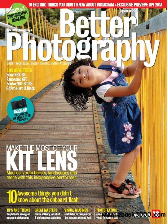 Better Photography - September 2013 free download