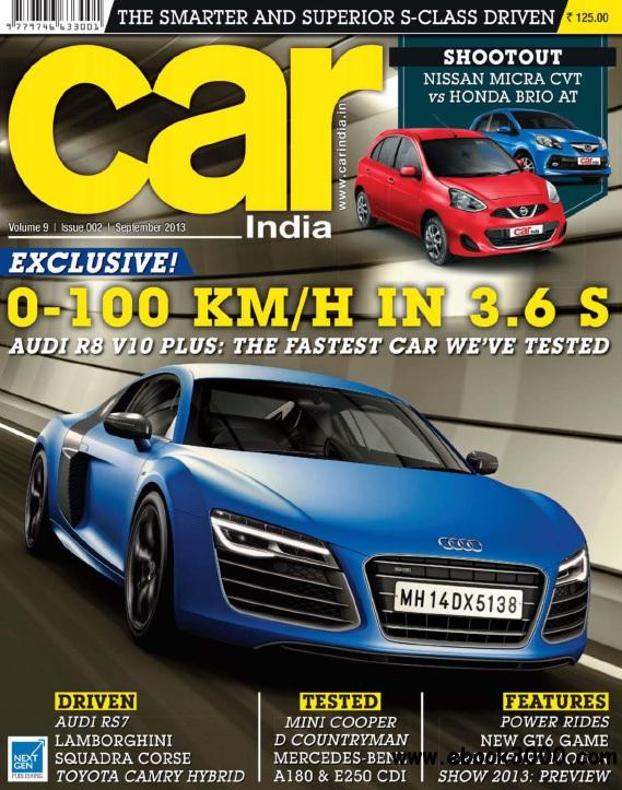 Car India - September 2013 free download