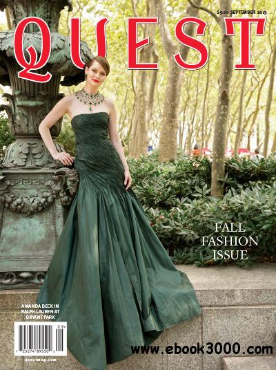QUEST Magazine - September 2013 free download