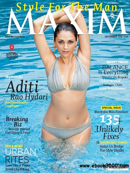 Maxim India - September 2013 free download
