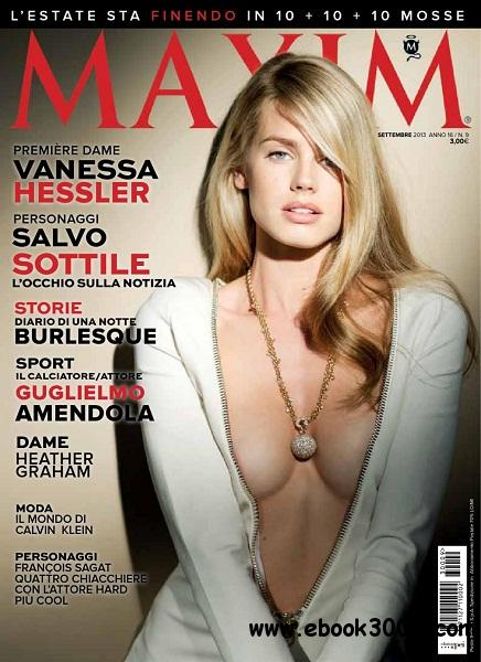 Maxim Italia - Settembre 2013 free download