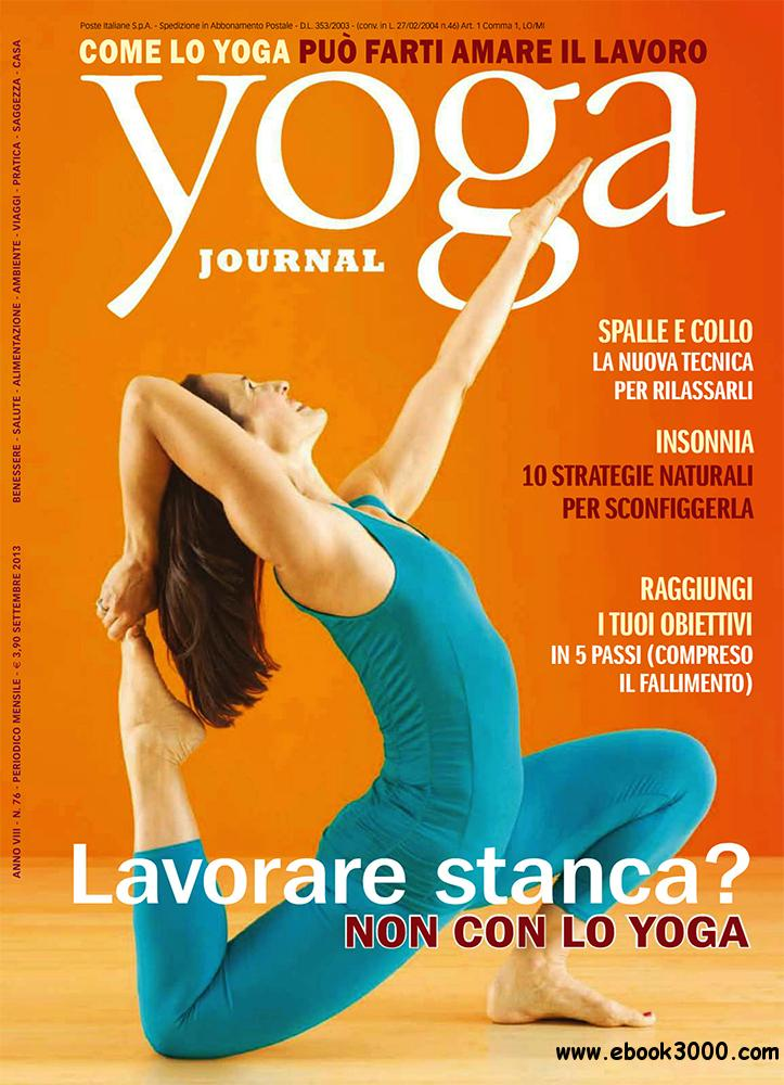 Yoga Journal Settembre 2013 (Italy) free download