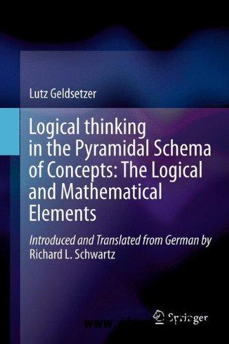 Logical Thinking in the Pyramidal Schema of Concepts: The Logical and Mathematical free download