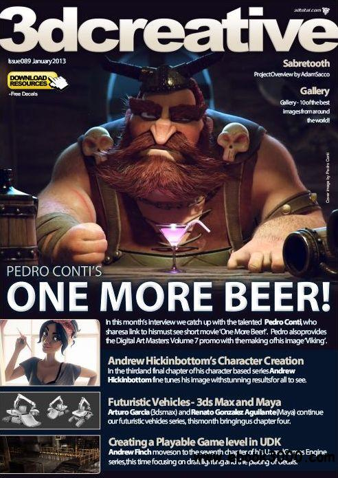 3Dcreative Issue 89 - January 2013 free download