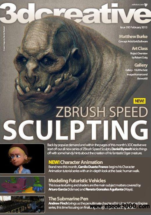 3Dcreative Issue 90 - February 2013 free download