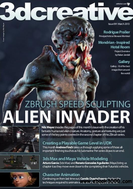 3Dcreative Issue 91 - March 2013 free download