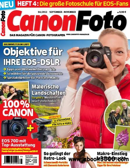 Canon Foto Magazin September - November No 04 2013 download dree