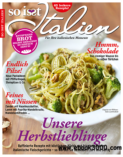 So isst Italien Magazin Oktober November No 06 2013 free download