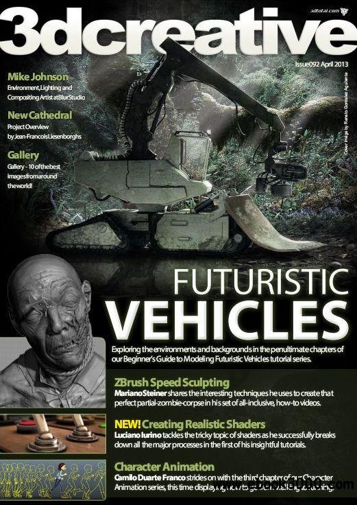 3Dcreative Issue 92 - April 2013 free download