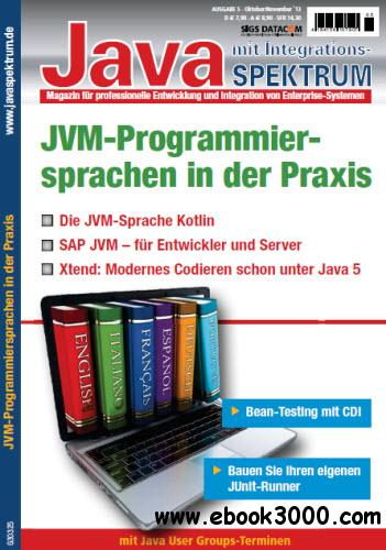 JavaSpektrum Magazin Oktober November No 05 2013 free download
