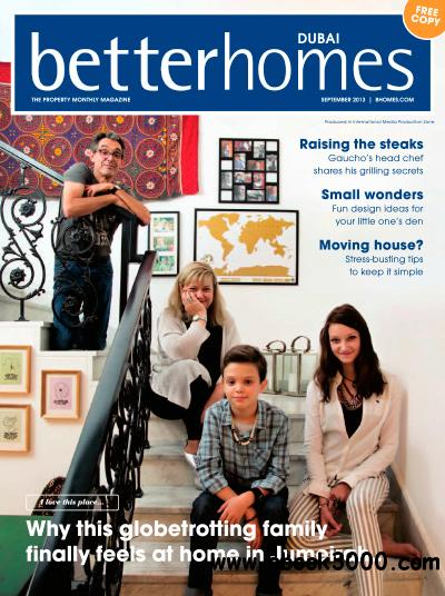 Better Homes Dubai - September 2013 free download