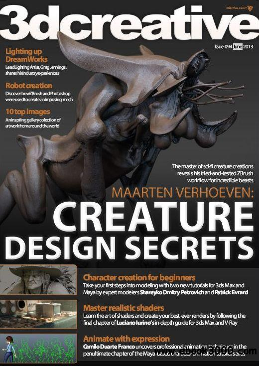 3Dcreative Issue 94 - June 2013 free download