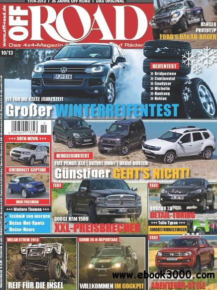 Off Road Das 4x4 Magazin Oktober No 10 2013 free download