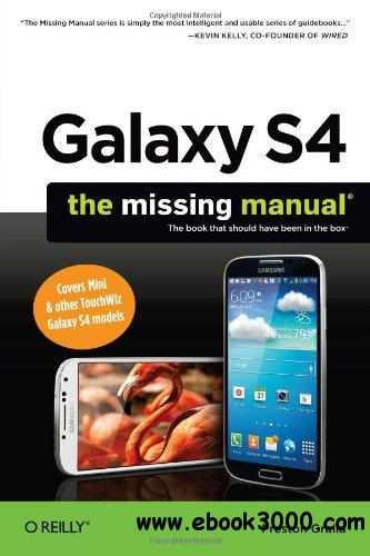 Galaxy S4: The Missing Manual free download