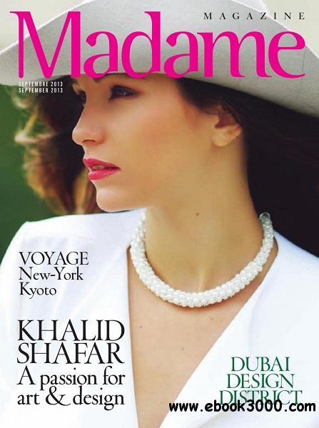 Madame - Septembre 2013 free download