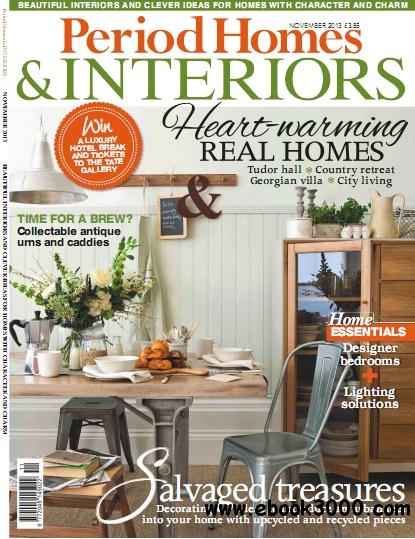Period Homes & Interiors Magazine November 2013 download dree