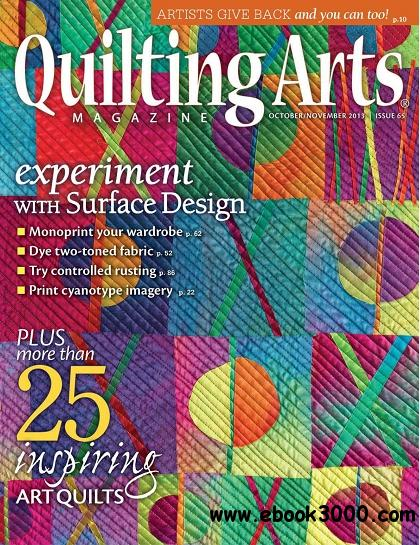 Quilting Arts - Issue 65, October/November 2013 free download