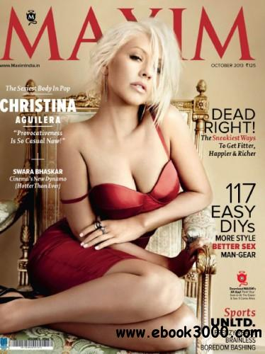 Maxim India - October 2013 free download