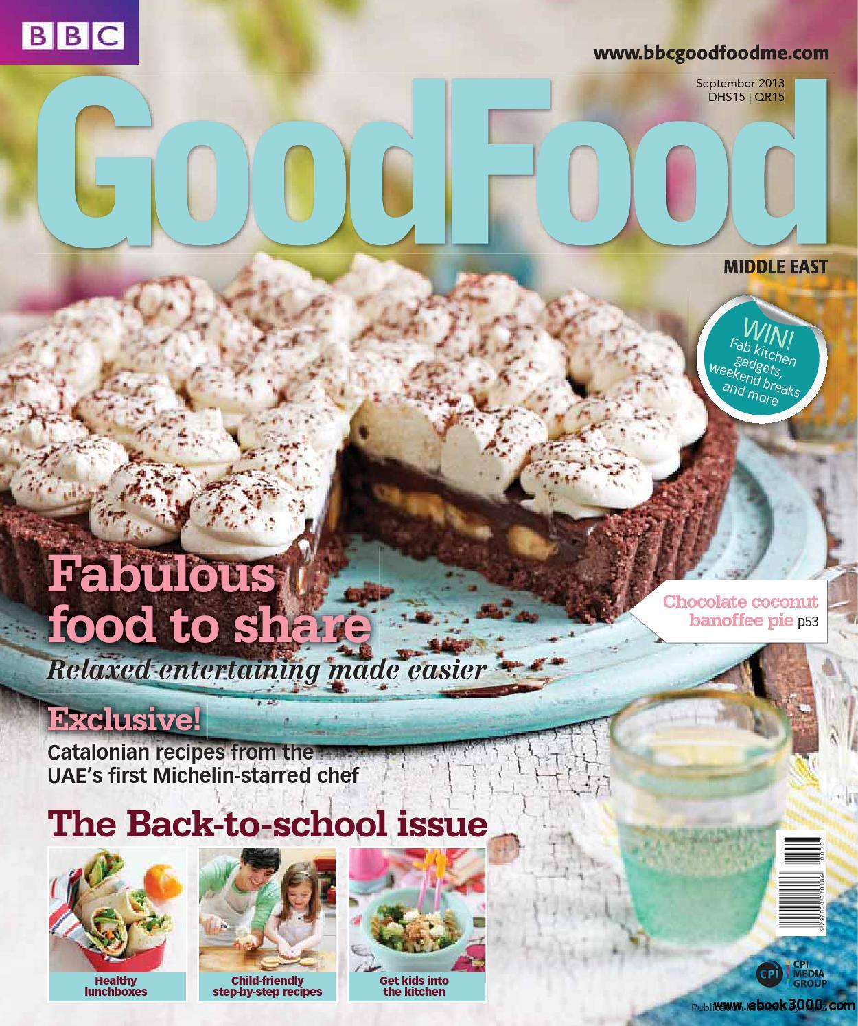 BBC Good Food Middle East - September 2013 free download
