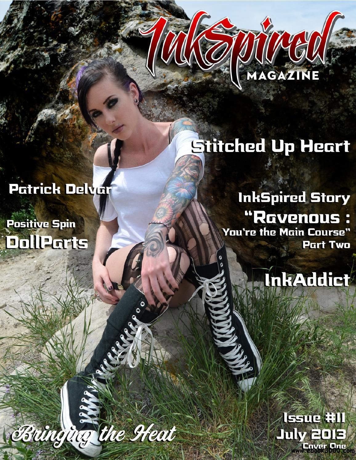 InkSpired Magazine - July 2013 free download