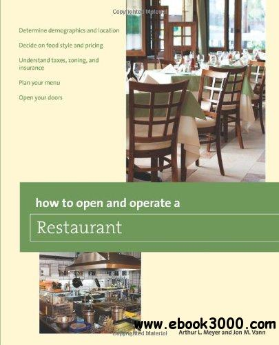 How to Open and Operate a Restaurant free download