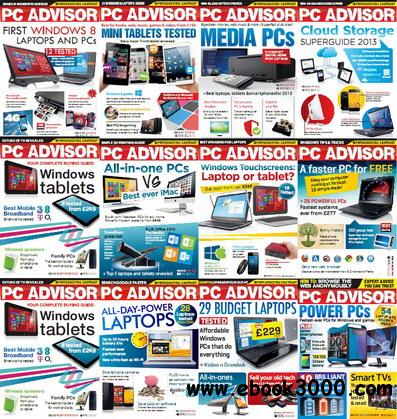PC Advisor 2013 Full Collection free download