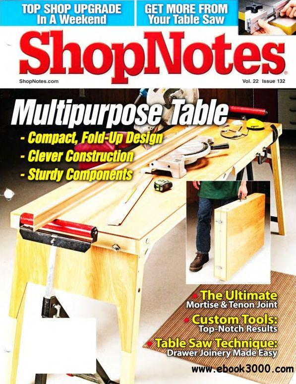 ShopNotes Issue #132 (November-December 2013) free download