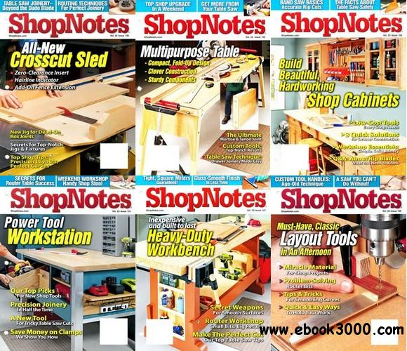 ShopNotes 2013 Full Collection (#127-132) free download
