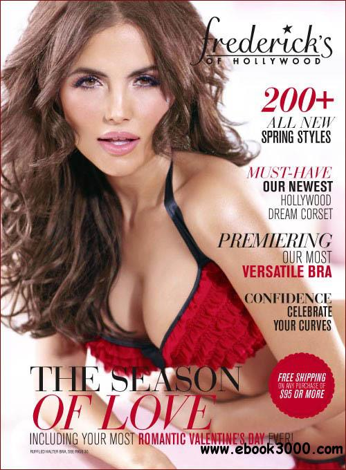 Fredericks of Hollywood Spring 2013 Catalog free download