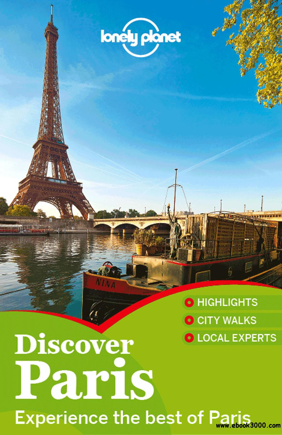 Lonely Planet Discover Paris free download