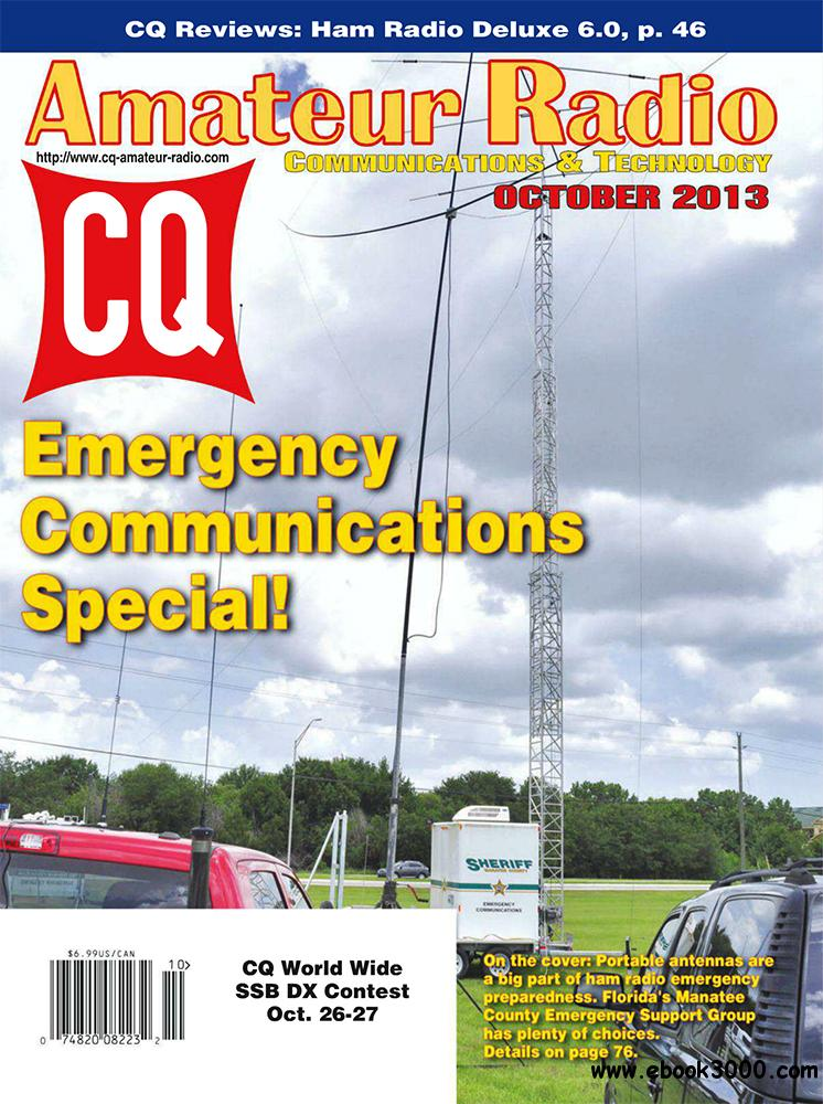 CQ Amateur Radio October 2013 (USA) free download