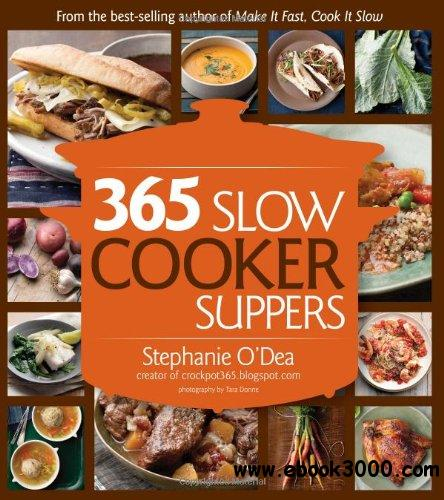 365 Slow Cooker Suppers free download