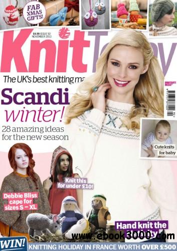 Knit Today - November 2013 free download