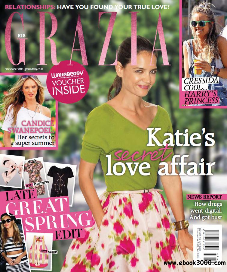 Grazia South Africa - 30 October 2013 free download
