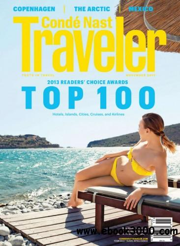 Conde Nast Traveller USA - November 2013 free download