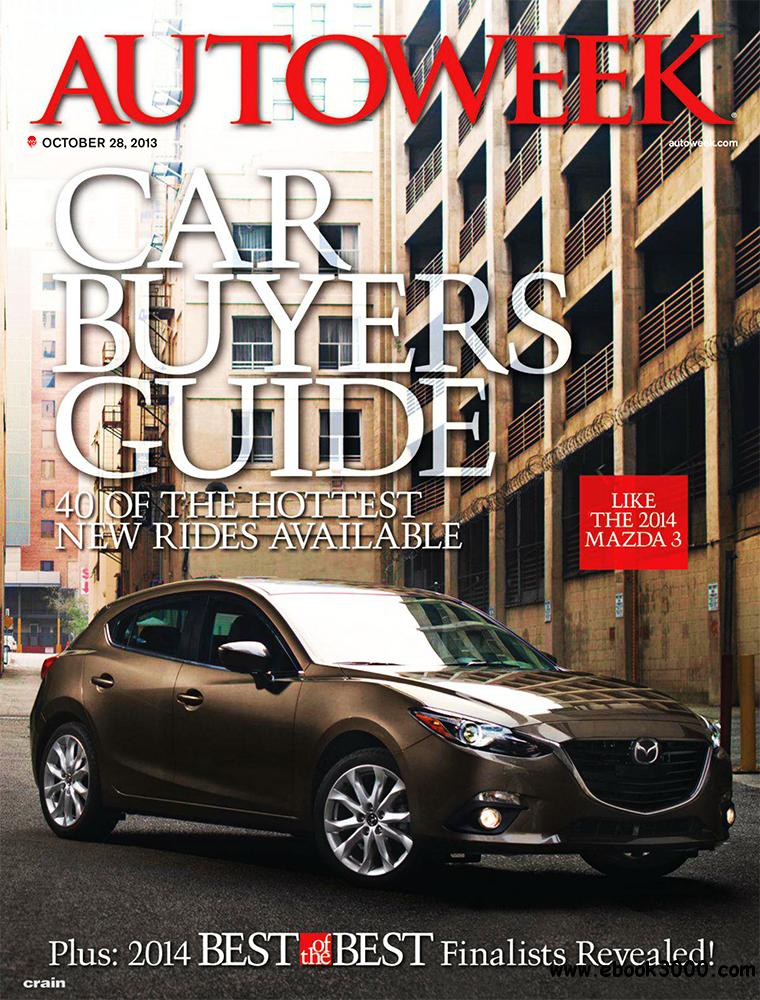Autoweek 28 October 2013 (USA) free download