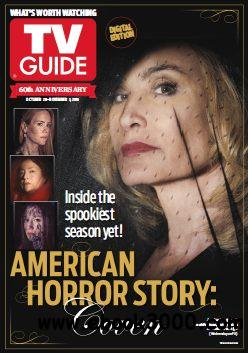 TV Guide Magazine USA - 28 October 2013 free download