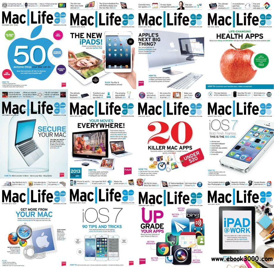 Mac Life USA - Full Year Collection 2013 free download